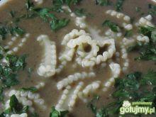Zupa-krem z podgrzybków.