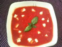 Zupa-krem z pomidorów i papryki