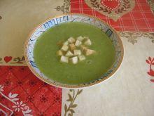 Zupa krem z pora i fasolki szparagowej