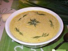 Zupa krem z porów, na kurczaku