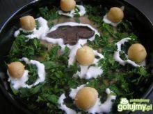 Zupa krem z suszonych grzybów