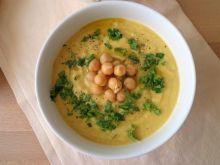 Zupa krem z topinamburu i ciecierzycy