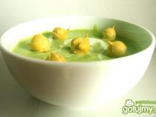 Zupa-krem z zielonego groszku 3