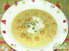 Zupa krem z zielonego groszku wg Alex_M
