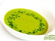 Zupa krem z zielonego groszku wg Magdy
