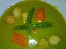 Zupa krem ze szparagow.