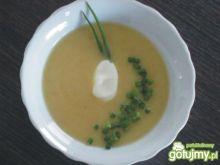 Zupa krem ze szparagów i pora 2