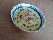 Zupa krem ziemniaczano-czosnkowy