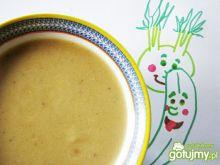 Zupa kremowa cukiniowo-kalarepkowa