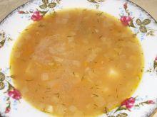 Zupa krupnik z grochem