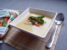 Zupa kukurydziana z kurczakiem i warzywami