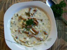 Zupa kurkowa z makaronem