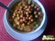 zupa marchewkowo-groszkowa