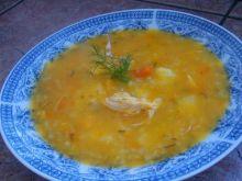 Zupa marchwiowo- ryżowa dietetyczna