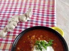 Zupa marokańska z soczewicą