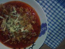 Zupa mięsno-pomidorowa