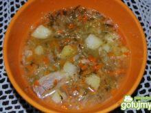 Zupa ogorkowa mojej mamy