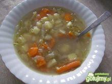 Zupa ogórkowa na kaczce