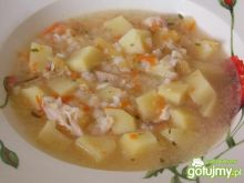 Zupa ogórkowa z ryżem 4