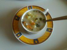 Zupa ogórkowa z ziemniakami i ryżem