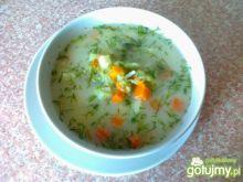 Zupa ogórkowo-koperkowa z ziemniakami