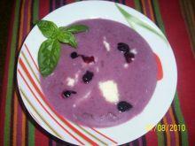 Zupa owocowa - borówkowa