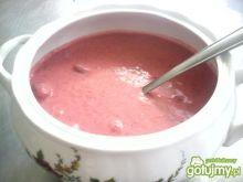 Zupa owocowa truskawkowa