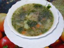 Zupa pachnąca pietruszką - wspomnienie