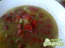 Zupa paprykowa z pesto