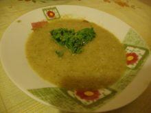 Zupa paprykowa z soczewicą