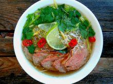 Zupa Pho z kaczką