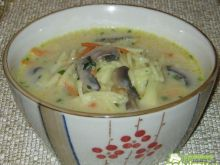 Zupa pieczarkowa 2