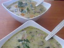 Zupa pieczarkowa dla 2 osób