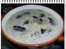 Zupa pieczarkowa Eli z makaronem
