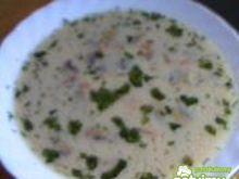 Zupa pieczarkowa na kostce grzybowej