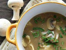 Zupa pieczarkowa tajska