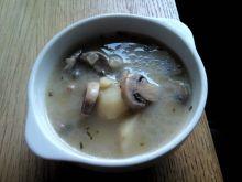 Zupa pieczarkowa vegetariańska