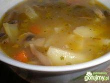 Zupa pieczarkowa z chińską nutą