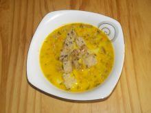 Zupa pieczarkowa z grzankami