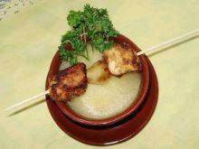 Zupa pieczarkowa z kurczakiem