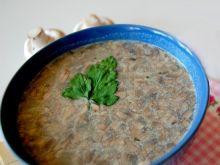 Zupa pieczarkowa z soczewicą
