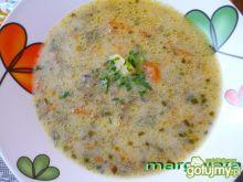 Zupa pieczarkowa ze szczypiorkiem