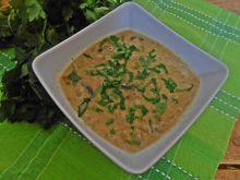 Zupa pieczarkowo-kalarepkowa