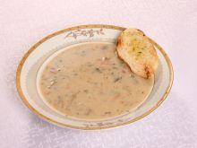 Zupa pieczarkowo serowa