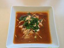 Zupa po tajsku z kurczakiem