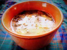 Zupa pokrzywowa z mniszkiem lekarskim