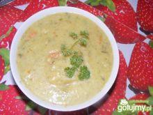 Zupa pół-kremowa z porem.