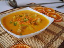 Zupa pomarańczowo-marchwiowa