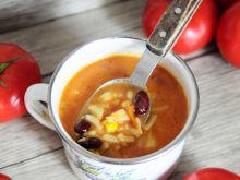 Zupa pomidorowa alla meksykańska
