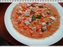 Zupa pomidorowa Eli gotowana na indyku